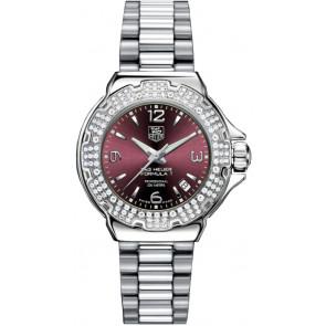 Watch strap Tag Heuer WAC1219-BA0852 Steel Steel