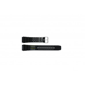 Watch strap  / Citizen Rubber / plastic Black 20mm