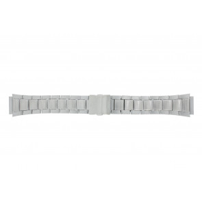Casio watch strap WV-58DE-1AVEF / 10243173 Metal Silver 23mm