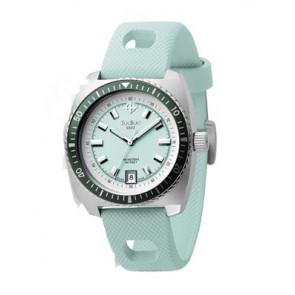 Zodiac watch strap ZO2246 Leather Light blue